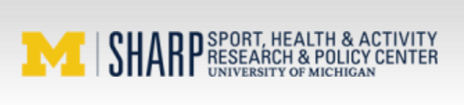 Sharp Sport, Health & Activity Research & Policy Center logo